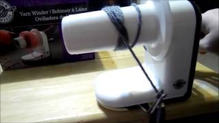 getlinkyoutube.com-How to use the Loops & Threads Yarn Winder