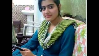 pathan girl telling her story on phone call
