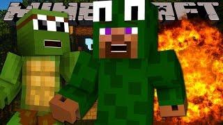 getlinkyoutube.com-Minecraft - DEATH RUN - TINYTURTLE IS EVIL!!