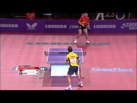 WTTC 2013 Highlights: Xu Xin vs Par Gerell (Round 2)