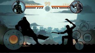 getlinkyoutube.com-Shadow Fight 2 Titan vs Lynx