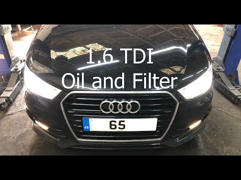 Audi A1 1.6 TDI Oil and Filter Change Service
