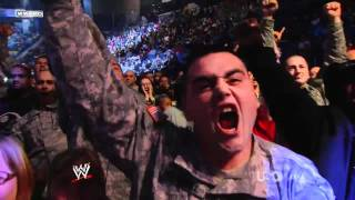 getlinkyoutube.com-Nickelback - Burn It To The Ground @ WWE Tribute To The Troops 2011