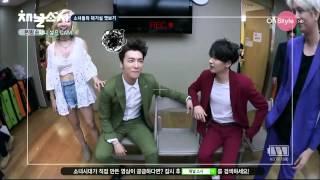 getlinkyoutube.com-Yoonhae moment #72 - Stuck on You at Backstage