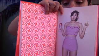 "getlinkyoutube.com-SISTAR ""TOUCH AND MOVE"" UNBOXING VIDEO"