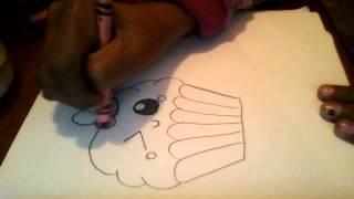 getlinkyoutube.com-como dibujar pastelito Kalow