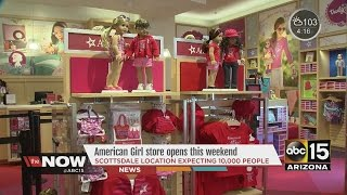 getlinkyoutube.com-American Girl store opening in Scottsdale