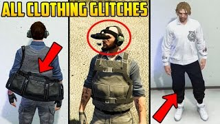 GTA ONLINE - ALL CLOTHING GLITCHES AFTER PATCH 1.38 (NO MORE COP OUTFIT)