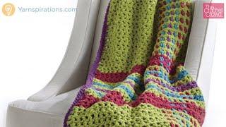 getlinkyoutube.com-How to Crochet A Blanket: Tad O'Plaid Afghan