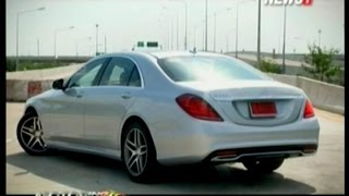 getlinkyoutube.com-Motoring ONAIR Test Drive: Mercedes-Benz S300 Bluetec Hybrid ช่วงที่3 14/11/2015