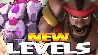 NEW LVL 6 GOLEM, LVL 7 HOG RIDER + LVL 5 POISON SPELL | December Update 2016 | Clash of Clans