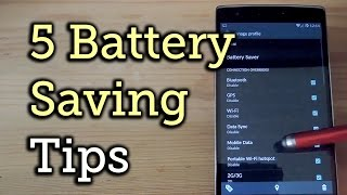 getlinkyoutube.com-Squeeze More Battery Power from Your OnePlus One with These 5 Settings [How-To]