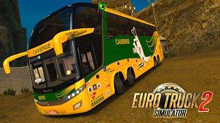 Ônibus Marcopolo G7 1600 LD da CAXIENSE - Euro Truck 2