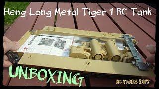 getlinkyoutube.com-Heng Long Metal Tiger 1 RC 1:16 Tank Unboxing