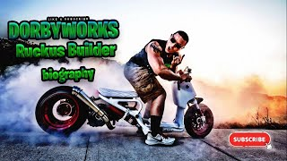 Honda Ruckus builder profile Dorbyworks Miami Florida