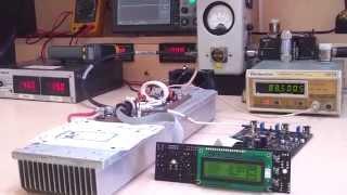 getlinkyoutube.com-Transmisor FM 600w Broadcast kit PLL Mono Stereo + AMP600 TX Transmitter