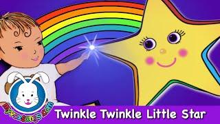 getlinkyoutube.com-Twinkle Twinkle Little Star | Nursery Rhymes with lyrics by MyVoxSongs