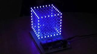 getlinkyoutube.com-LED-CUBE 8x8x8