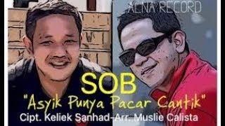 ASYIK PUNYA PACAR CANTIK - SOB karaoke dangdut (Tanpa vokal) cover