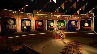 getlinkyoutube.com-【4K】 トーマスランド トーマスのパーティパレード/Thomas' Party Parade