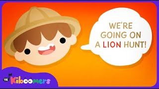 getlinkyoutube.com-We're Going on a Lion Hunt Song | Kids Song | Camp Song | Animal Song | The Kiboomers