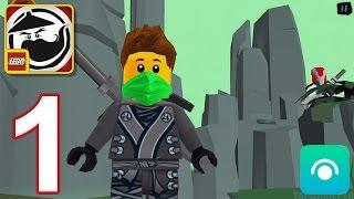 LEGO Ninjago WU-CRU - Gameplay Walkthrough Part 1 - Zane Saved (iOS, Android)