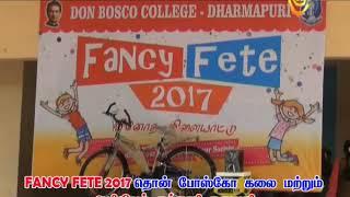 FANCY FETE 2017 ,DON BOSCO COLLEGE