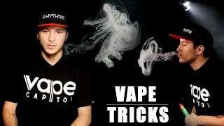 Jelly Fish and Force Fields Vaping Tricks