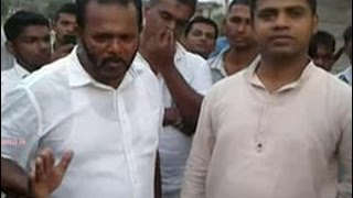 Palitha and Nalinda halt work at rock quarry in Meegahatenna