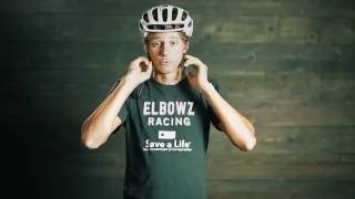 ELBOWZ Racing Bicycle Safety - How to Wear a Helmet