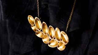 getlinkyoutube.com-How To Make Beautiful Pistachio Shell Jewelry - DIY Style Tutorial - Guidecentral