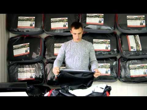 Обзор авточехлов из экокожи на Honda Civic c 2006г. Интернет магазин www.carcov.ru.