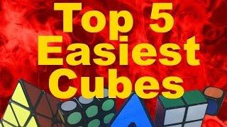 getlinkyoutube.com-My Top 5 Easiest Rubik's Cubes!