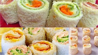 getlinkyoutube.com-Sandwich Rollups Recipe - Bread Sushi Recipe - Kid's Video Recipes - Perfect Summer Recipe