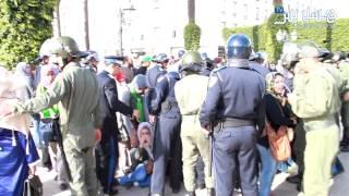 getlinkyoutube.com-Hespress.com: Chômeurs Vs Forces