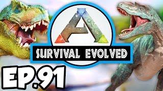 getlinkyoutube.com-ARK: Survival Evolved Ep.91 - NEW GARDENER, TAPEJARA RIDE & ELEVATOR!!! (Modded Dinosaurs Gameplay)
