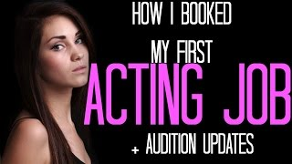 getlinkyoutube.com-HOW I GOT MY FIRST ACTING JOB + AUDITION UPDATES | JENNA LARSON