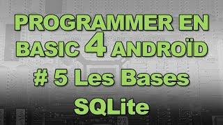 getlinkyoutube.com-Programmez Basic4Android # 5 : SQLite, les bases