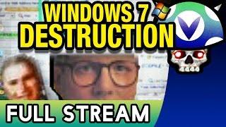getlinkyoutube.com-[Vinesauce] Joel - Windows 7 Destruction ( FULL STREAM )