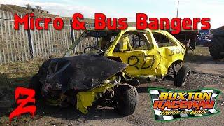 getlinkyoutube.com-Buxton Raceway Micro & Bus Bangers 2015