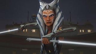 getlinkyoutube.com-Star Wars Rebels - Ahsoka Tano vs. The Inquisitors (Seventh Sister & Fifth Brother) [1080p]