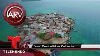 El paraíso y la miseria en una isla de Colombia | Al Rojo Vivo | Telemundo