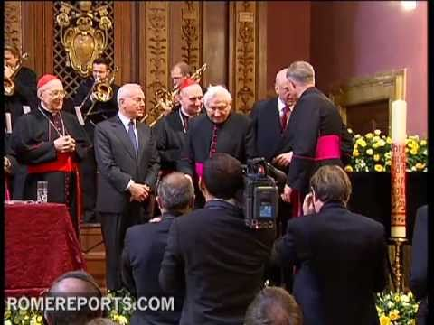Pope's brother is awarded for his contributions in music