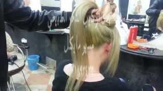 getlinkyoutube.com-كيرياتين وصبغة وتركيب شعر طبيعي لون بلوند اشقر فاتح
