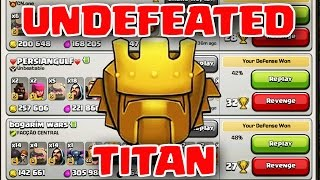 getlinkyoutube.com-Clash of Clans | DEFENDING AGAINST TITANS - DID I CREATE BEST TH10 BASE?