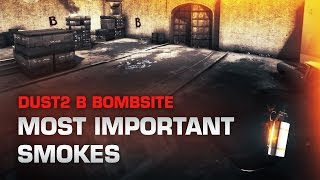 getlinkyoutube.com-CS:GO Dust2 - B Bombsite smoke guide (CT & T side)