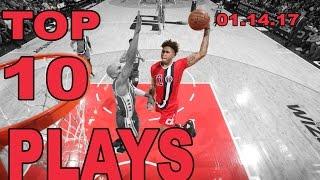 getlinkyoutube.com-Top 10 NBA Plays of the Night: 01.14.17