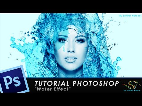 "TUTORIAL PHOTOTSHOP ""Water effect"""