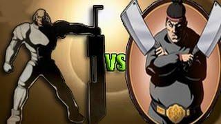 Shadow Fight 2 ТИТАН VS МЯСНИК