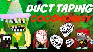 getlinkyoutube.com-Growtopia | Duct taping Cocomonkey!